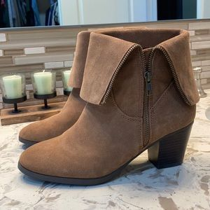 G.H. Bass and Co. Suede Brown Bootie